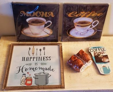 14 Day Growing Home Decoration Lot. Starting with 5 Kitchen Decorations.