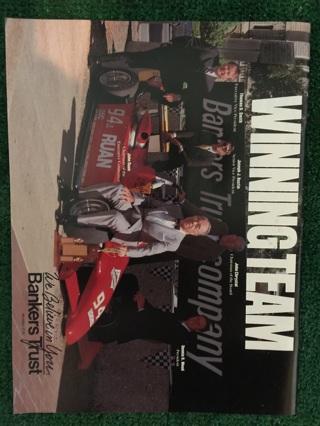 Vintage Ruan Grand Prix Official Program