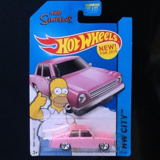 • HOT WHELLS • THE SIMPSONS • NEW •