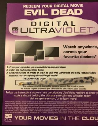 Evil dead digital download