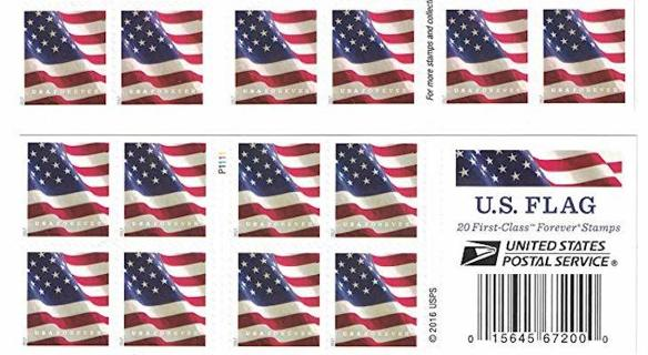 40 Forever Stamps (Design May Vary)