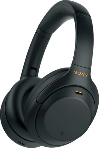 Sony - WH-1000XM4 Wireless Noise-Cancelling Over-the-Ear Headphones - Black