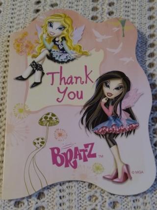 Thank You Notecards - BRATZ