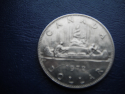 1980 CANADA $1 NICKEL DOLLAR- Circulated