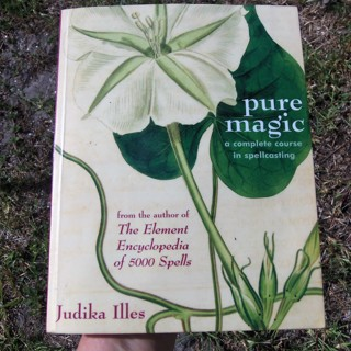 PURE MAGIC: A Complete Course in Spellcasting ☽✪☾ Spells Wicca Witchcraft Pagan ~ FREE SHIPPING