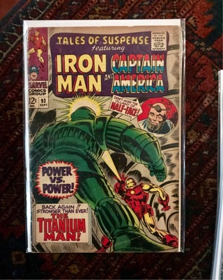 Tales of Suspense #93 12 cent Cover Silver Age