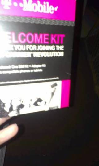 T mobile sim card new sealed