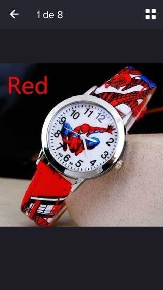Quartz Wristwatches Spiderman