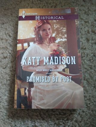 Promised by Post by Katy Madison (paperback)