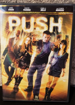 """DVD - """"PUSH"""" - rated PG-13"""