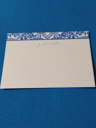 Notecards - Just A Note