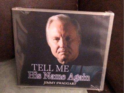 NIP Jimmy Swaggart Christian  CD: Tell Me His Name Again