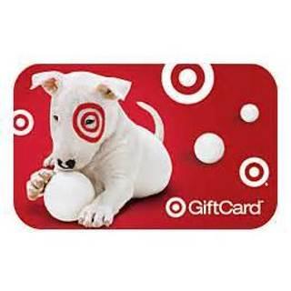 5 $ target gift card