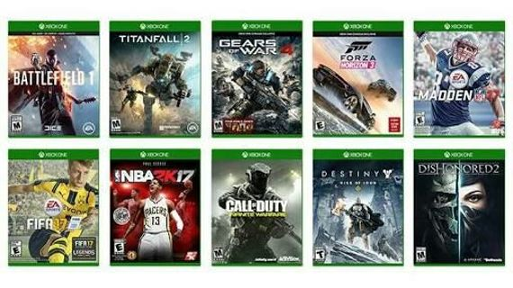 20 Xbox Games in a single package and more..
