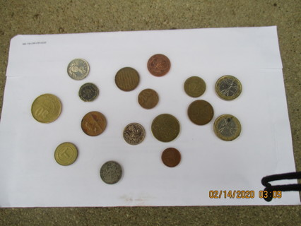 odd lot coins euros others