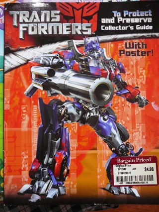 Transformers..To Protect and Preserve...book