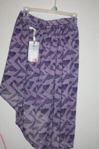Pretty Purple  low high skirt size xs