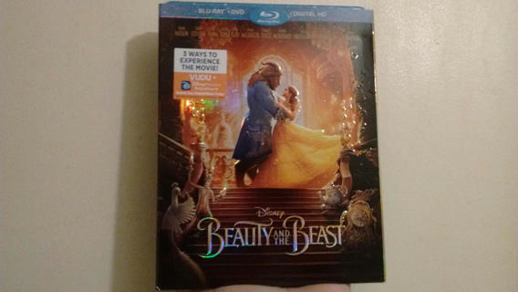 NEW BEAUTY AND THE BEAST BLU - RAY + DVD + DIGITAL HD