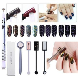 Nail Art Cat Eye Magnetic Stick 3D Effect Plate for UV Gel Polish Manicure Tools