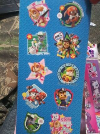 Paw patrol sticker sheet lowest gins! No refunds! No lower! Selling out! Last one!