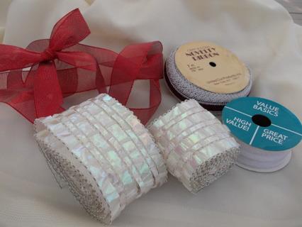 Ribbon, Lace & Trim CRAFT LOT
