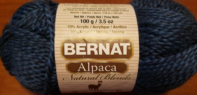 """NEW - Bernat Alpaca Yarn - """"Aqua"""""""