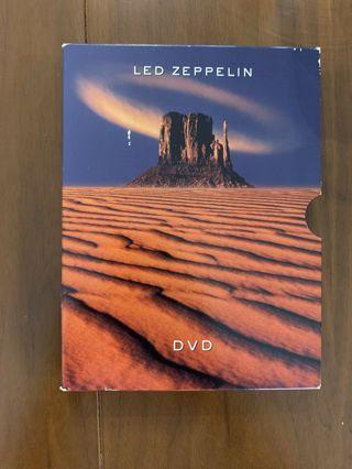 2 dvd set-led zeppelin-dvd-used-ex-rock-2003-robert plant-john paul jones-jimmy page-look!live!hits