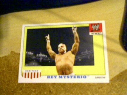 WWE Heritage 4 Rey Mysterio card