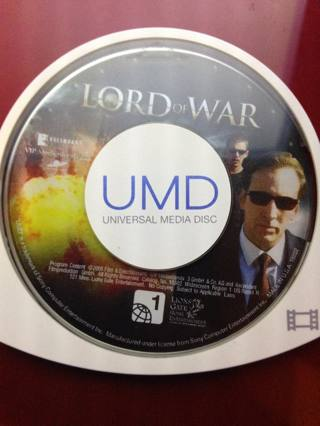 Playstation PSP Movie! Lord of War.