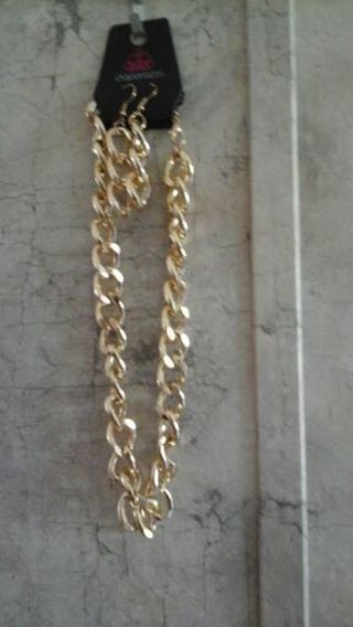 Gold Chain Set