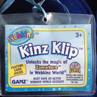 Free: Webkinz Whimsy Dragon Kinz Klip *CODE ONLY* Unlock Zumwhere