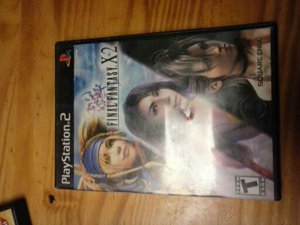 Final fantasy x-2 for PlayStation 2 ps2