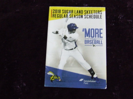 Free: 2018 Sugar Land Skeeters Season Baseball Schedule