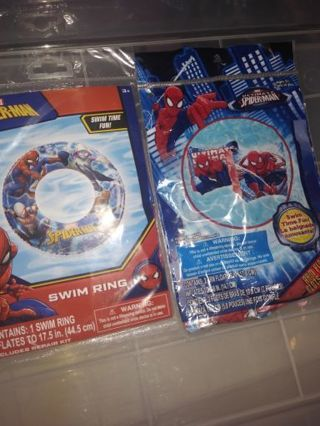 Spider-Man swim toys