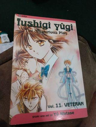 Fushigi Yugi Volume 11 by Yuu Watase (manga, paperback)