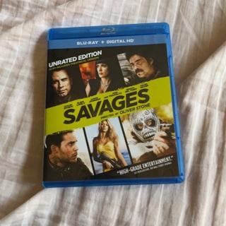 Savages Blu Ray
