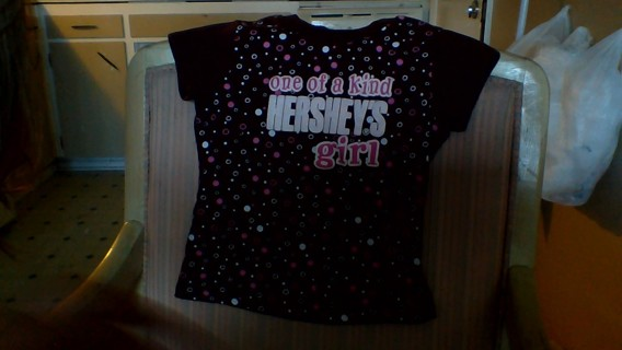 Cute girls shirt!! one of a kind!!