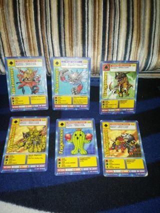 1999 Digimon trading card lot