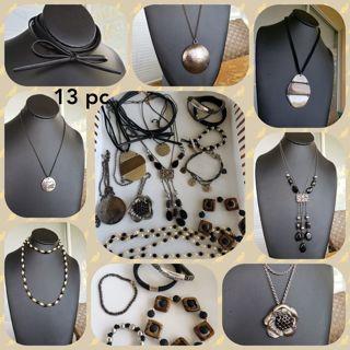 Midnight~13 PC Wear/resell Jewelry Lot