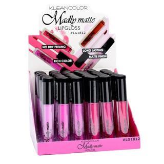 6 PCs Kleancolor Madly MATTE Lipgloss - Bold & Vivid Color Matte Lipgloss ...