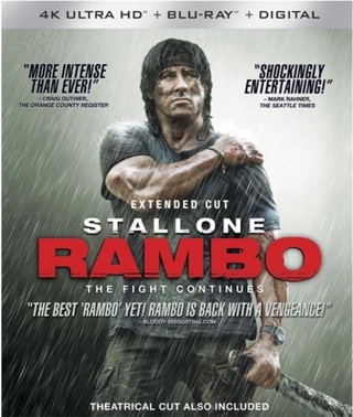 Extended Cut Rambo The Fight Continues digital code from 4K