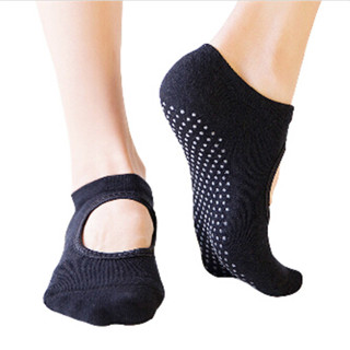 1 Pair Fashion Women Boat Socks Gym Pilates Ballet Cotton Toe Socks Girls Fitness Sport Socks Anti