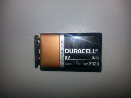 9V DURACELL COPPER TOP