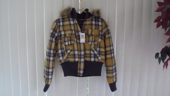 Girl's New With Tags Jacket Joujou Size Small