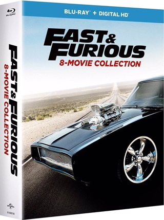 Fast and Furious 8 movie collection