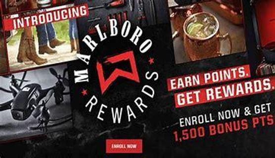 2x Marlboro 100 Point Rewards Code~Digital Delivery~