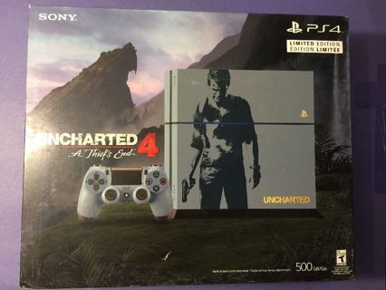 ps4 uncharted 4 limited edition bundle
