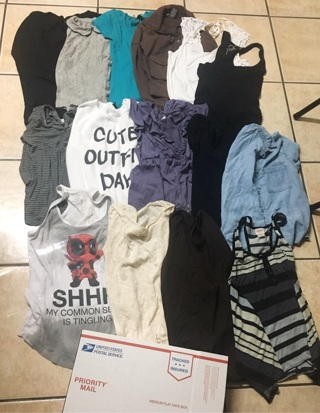 Womens/Teens Shirts Mostly Small & Medium... (Read Description) THE MORE YOU BID THE MORE YOU GET!!