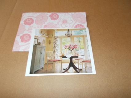 handmade note card/envelope
