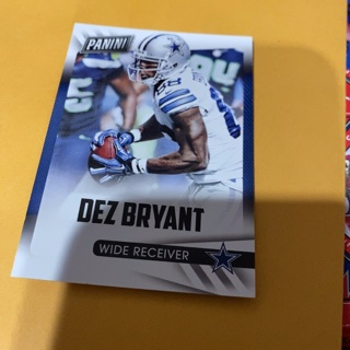 2015 panini Father's Day dez Bryant football card